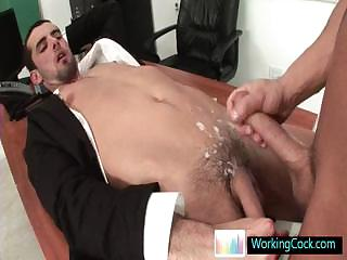 Jake getting his cute ass fucked hard apart from workingcock