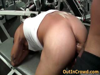 Gay fuck in public gym 1 by outincrowd