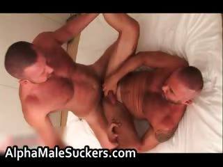 Excessively hot gay men fucking
