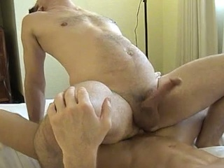 Muscled dude gets his ass licked and fucked changeless