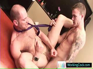 Incredible jubilant studs in hardcore jubilant porn at the end of one's tether workingcock