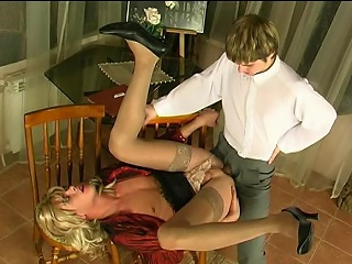 Steamy sissy guy pigeon-holing his asshole before mind-blowing anal...