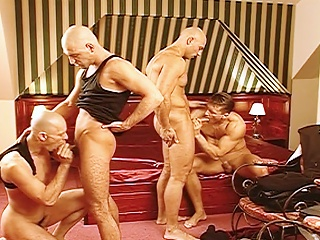 Jocks fuck eachother from behind after laying waste a issue mans...
