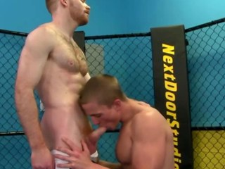 Gay jock works jocks dick during their carry on out
