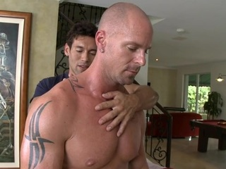 Unfathomable anal hammering with lusty gay dudes